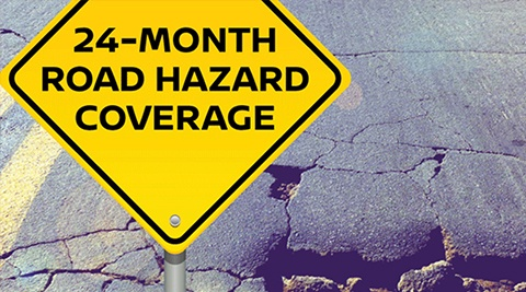 24-Hour Road Hazard Coverage